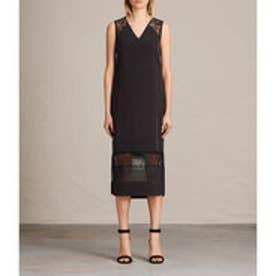 LONG PRISM DRESS (Black)