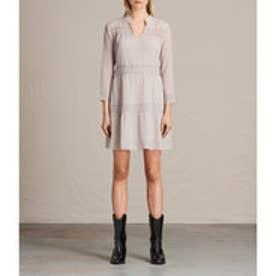 NIMA SHORT DRESS (CHAMPAGNE PINK)