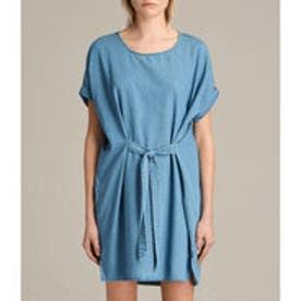 SONNY DENIM DRESS (MID INDIGO BLUE)