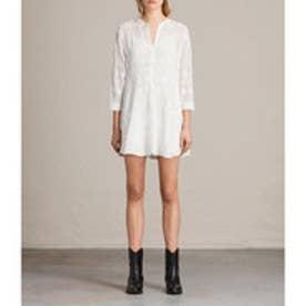 〇 ANAIS LS DRESS (Chalk White)