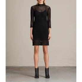 〇 AVRIL DRESS (Black)