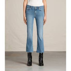 ZOE CROPPED BOOTCUT (LIGHT INDIGO BLUE)