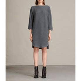 ESIA DRESS (CHARCOAL GREY MARL)