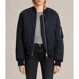 BREE LACED BOMBER (Ink Blue)