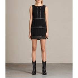 RIZZO TIER DRESS (Black)