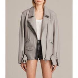OVERSIZED BIKER (Pale Grey)