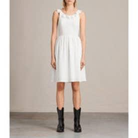 STINA DRESS (Chalk White)