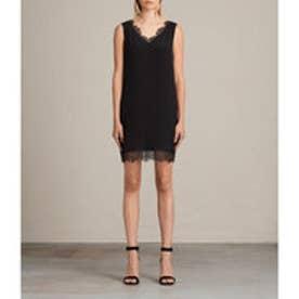 CAMIA LACE DRESS (Black)