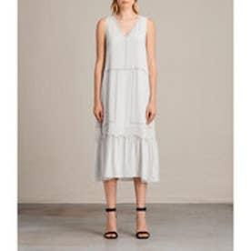 CRACE LONG DRESS (SOAP GREY)