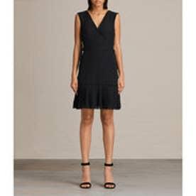 KEENA PLEAT DRESS (Black)