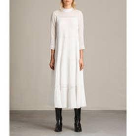 NIMA PINTO DRESS (Chalk White)
