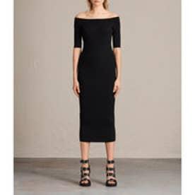 〇 LAVINE DRESS (Black)