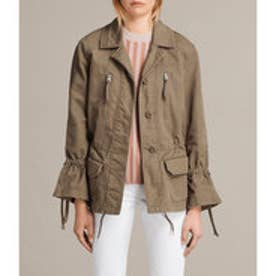 AMIRA JACKET (DUST OLIVE GREEN)