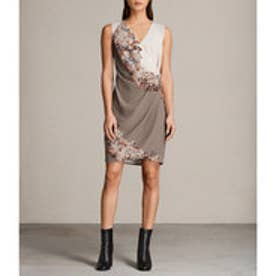 ANIKA CLEMENT DRESS (TAUPE GREY)
