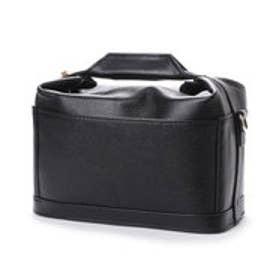 イグジスタンス EXISTENCE スクエアバニティレザーバッグ (ブラック)