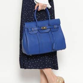 イグジスタンス EXISTENCE 牛床革2way BAG (ブルー)
