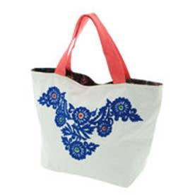 【チャイハネ】メキシカン刺繍ミニトートバッグ ブルー