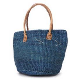 【チャイハネ】From Kenya サイザルバッグ ブルー