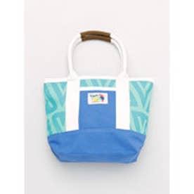 【チャイハネ】メキシカンカラートートバッグ ターコイズブルー