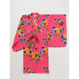 【チャイハネ】メキシカンキッズ浴衣110cm ピンク