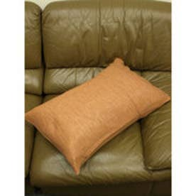 【チャイハネ】インド綿シンプル枕カバー/ピロケース ブラウン