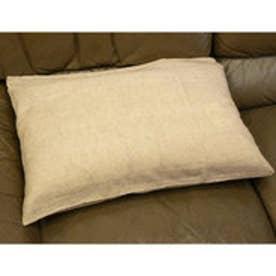 【チャイハネ】インド綿シンプル枕カバー/ピロケース ベージュ