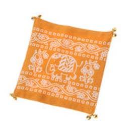 ◆プチプラ 【チャイハネ】子象コースター オレンジ