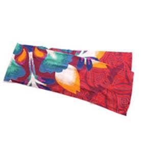 【チャイハネ】花曼荼羅ベッドカバー シングルサイズ パープル