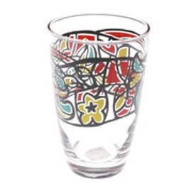 【チャイハネ】ハミングバード&フラワーグラス カラフル