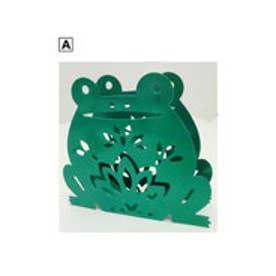 【チャイハネ】かえる蚊取り線香ホルダー 縦型置きタイプ グリーン