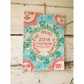 【チャイハネ】2018年カレンダー NEPALESE PRINT その他