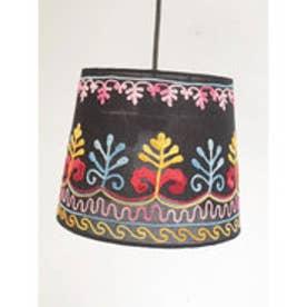 【チャイハネ】カシミール刺繍ランプ M ブラック