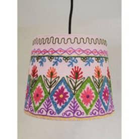 【チャイハネ】カシミール刺繍ランプ M ピンク