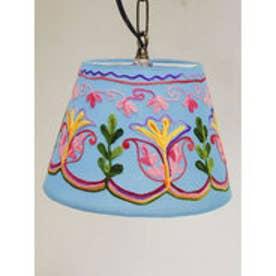 【チャイハネ】カシミール刺繍ランプ S ブルー