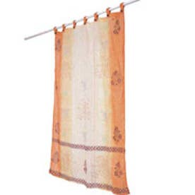 【チャイハネ】ゾーエンカーテン138cm オレンジ