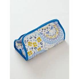 【欧州航路】ポーリッシュプレート柄ティッシュボックスカバー ブルー