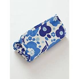 【欧州航路】フィンランドブーケ ティッシュボックスカバー ブルー