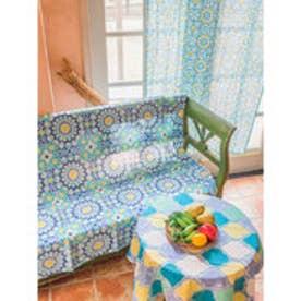 【チャイハネ】モロッコタイル柄カーテン その他1