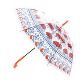 【チャイハネ】オリジナルEthnicビニール傘 オレンジ