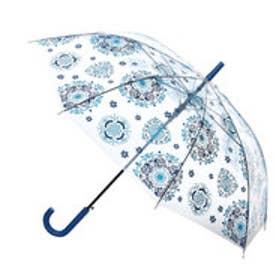 【チャイハネ】オリジナルEthnicビニール傘 ブルー