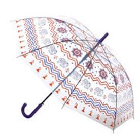 【チャイハネ】オリジナルEthnicビニール傘 ブラウン