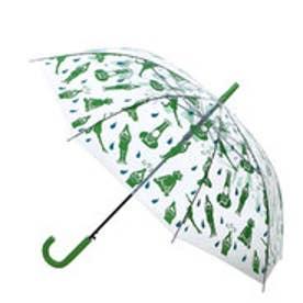 【チャイハネ】オリジナルEthnicビニール傘 グリーン
