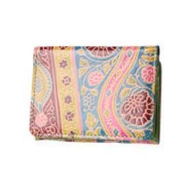 【チャイハネ】インド山羊革コルカタ財布 グリーン