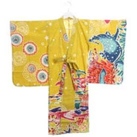 【チャイハネ】ユートピアキッズ浴衣110cm イエロー