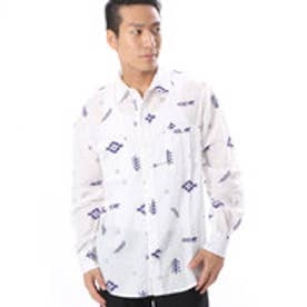 【kahiko】ファーツリーMEN'Sシャツ ホワイト