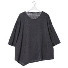 【チャイハネ】無地ビックMEN?STシャツ ブラック