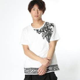 【チャイハネ】オウルメンズTシャツ ホワイト