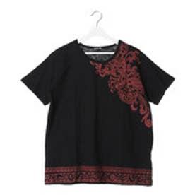 【チャイハネ】オウルメンズTシャツ ブラック