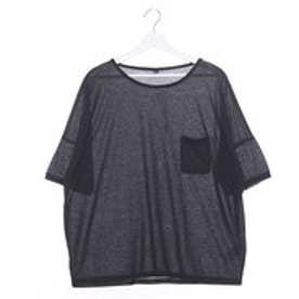 【チャイハネ】yul ベリイMEN'S ポケット Tシャツ ブラック