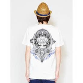 【チャイハネ】ロータスMEN'S Tシャツ Lサイズ ホワイト